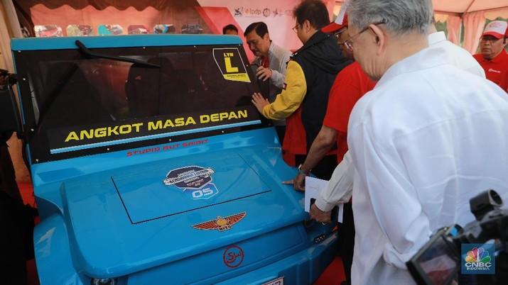 Kendaraan listrik juga harus memenuhi uji tipe.