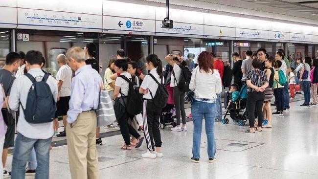Imbas Demo, Kereta Bandara Hong Kong Dihentikan Sementara
