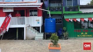 Listrik 'Byar Pet' dan Cerita Kecil di Perbatasan RI-Malaysia