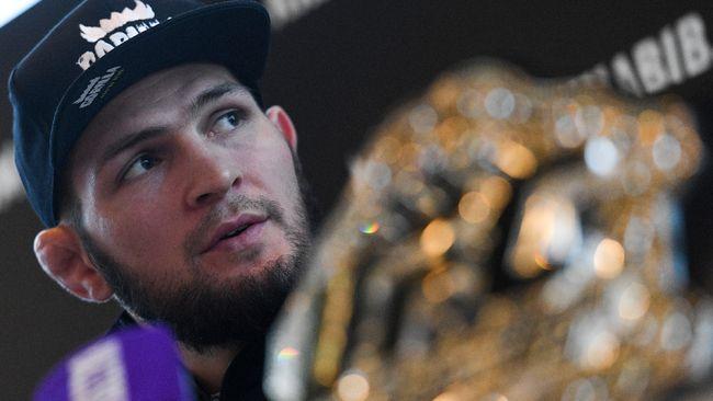 Presiden UFC: Khabib Belum Jadi Atlet Terhebat
