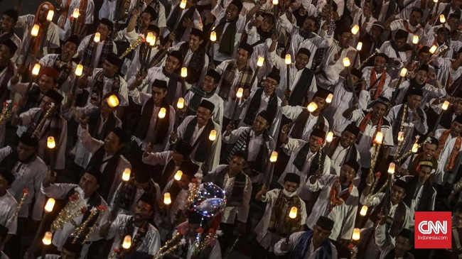 Menurutnya tujuan utama Jakarta Muharram Festival adalah mendorong kesetaraan kesempatan. (CNN Indonesia/Bisma Septalisma)