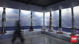 FOTO: Menjelajah Luar Angkasa di Skyworld TMII