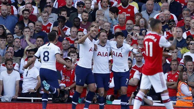 Babak Pertama: Arsenal Tertinggal 1-2 dari Tottenham