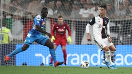 Liga Italia: Koulibaly Gol Bunuh Diri, Juventus Tekuk Napoli