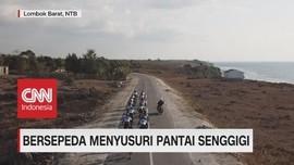 VIDEO: Bersepeda Menyusuri Pantai Senggigi