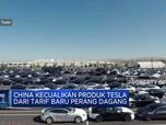 China Bebaskan Tesla dari Tarif Baru Produk AS