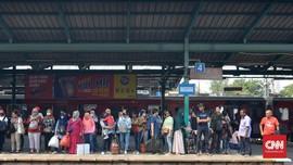 Tawuran Usai, KRL Commuter Line Bisa Melintas Manggarai