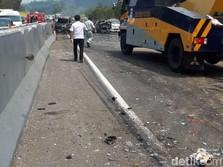 Biang Kerok Kecelakaan Maut Tol Cipularang: Truk 'Kegemukan'