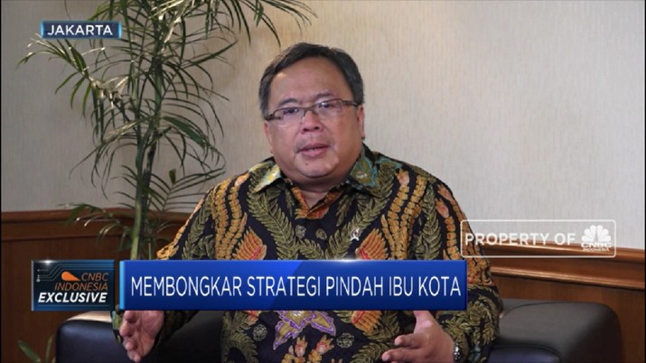 Kepala Bappenas Bambang Brodjonegoro buka-bukaan soal strategi pemindahan ibu kota