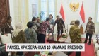 VIDEO: Pansel KPK Serahkan 10 Nama Capim ke Presiden