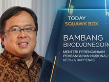 Eksklusif! Bambang Brodjonegoro Bicara Payung Hukum Ibu Kota