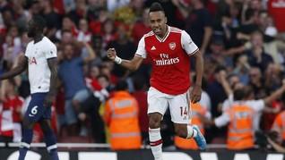 FOTO: Duel Panas Arsenal vs Tottenham Berakhir Antiklimaks
