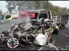 Polisi Revisi Jumlah Korban Tewas Kecelakaan Tol Cipularang