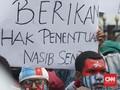 Mahasiswa Gelar Aksi Tuntut Referendum Papua di Gedung Sate