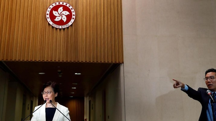 Demo Hong Kong Masih Lanjut, Pemimpin Minta AS tak Intervensi