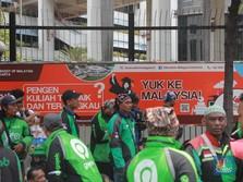Ojol Dilarang, Driver Tuntut Kompensasi BLT & Sembako!