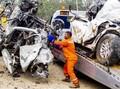 Truk Penyebab Tabrakan Tol Cipularang Overload 300 Persen