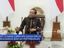Presiden Jokowi Terima 10 Nama Capim KPK