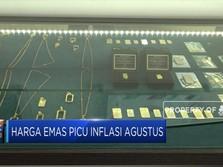 Harga Emas Picu Inflasi Agustus