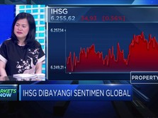 Dibayangi Sentimen Global, IHSG Lanjutan Pelemahan