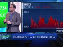 Sentimen Global Makin Dinamis, IHSG Bergerak Sideways Negatif