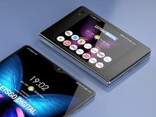 Samsung Bikin Ponsel Lipat Mirip Motorola Razr