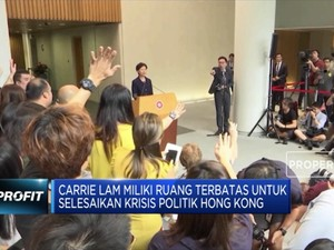 Demo Hong Kong Tak Kunjung Usai, Carrie Lam Siap Mundur
