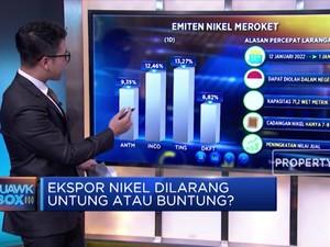Ekspor Nikel Dilarang, Untung Atau Buntung?