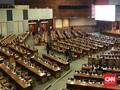 Kursi Kosong dan Jadwal Molor Warnai Paripurna DPR Hari Ini