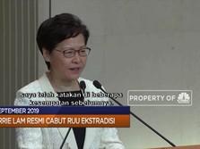 Pemimpin Hong Kong Resmi Cabut RUU Ekstradisi