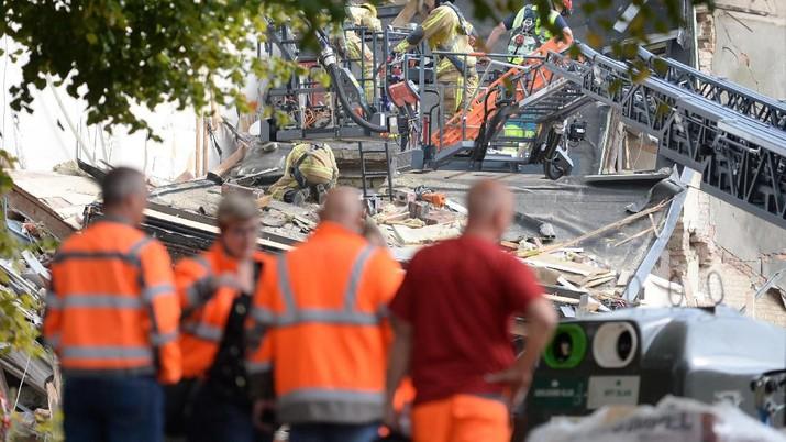 Ini Kondisi Rumah Akibat Ledakan Besar di Belgia