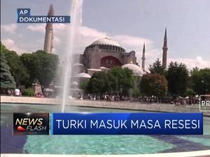 Duh! Ekonomi Anjlok, Turki Masuk Masa Resesi