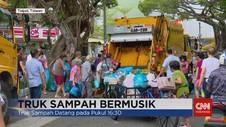 VIDEO: Unik! Truk Sampah Bermusik Warga Taiwan