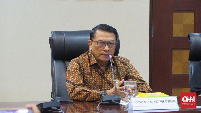 Rapat dengan Moeldoko, Relawan Susun Acara Penyambutan Jokowi