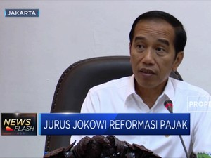 Reformasi Pajak Ala Presiden Jokowi