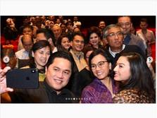 Sri Mulyani & Erick Thohir Nobar Film Gundala, Ini Reaksinya