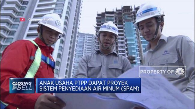 PTPP PP Siap Garap Proyek Sistem Penyediaan Air Minum Di Pekanbaru