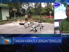 Tangani Karhutla Dengan Teknologi