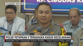 VIDEO: Polisi Tetapkan 2 Tersangka Kasus Kecelakaan Beruntun