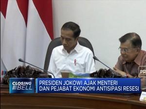 Jokowi: Sedia Payung Sebelum Hujan Untuk Resesi