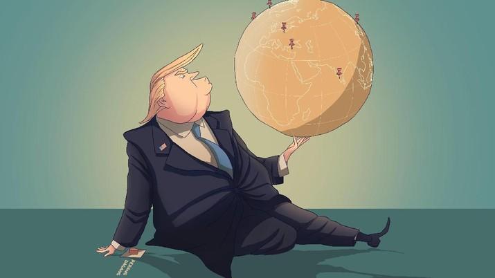 Pemerintah Amerika Serikat (AS) telah menyia-nyiakan sebagian masa jabatannya selama hampir tiga tahun ini dalam perang dagang dengan China.