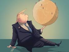 Trump Cuma Perang Dagang Lawan China & Eropa? Salah Pemirsa