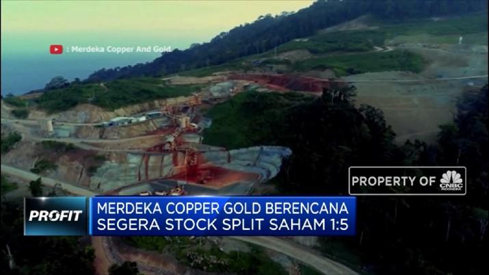 PT Merdeka Copper Gold Tbk (MDKA) menduduki posisi jawara sebagai saham yang paling banyak diobral oleh investor asing.