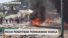 VIDEO: Ricuh Penertiban Pemukiman Warga