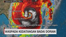 VIDEO: Waspada Kedatangan Badai Dorian di AS