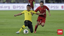 Malaysia Incar Kemenangan Lawan Indonesia demi Piala Asia