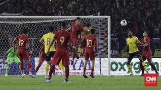 Timnas Indonesia Sudah 5.428 Hari Tak Menang di Malaysia