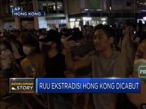 Aksi Demo Berlanjut Pasca RUU Ekstradisi Hong Kong Dicabut