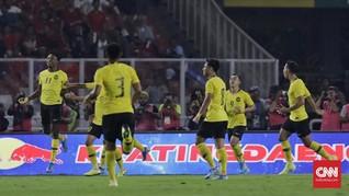 Hasil Kualifikasi Piala Dunia: Malaysia Tekuk Thailand 2-1
