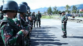 TNI Siagakan Pasukan di Pegunungan Bintang Papua